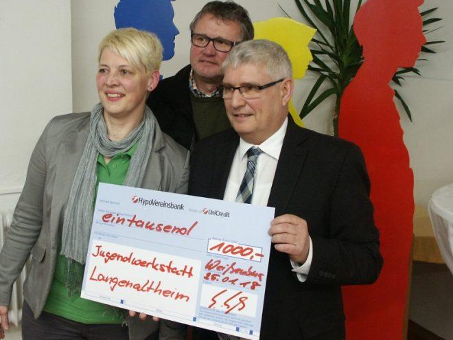 Rotary Club Weißenburg unterstützt Jugendwerkstatt