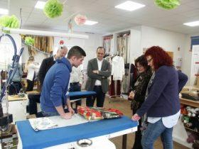 Kerstin Westphal – Mitglied des Europäischen Parlaments besucht die Jugendwerkstatt