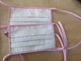 Mund-Nasen-Bedeckungen (Baumwolle) in der Jugendwerkstatt erhältlich