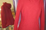 Damenhoddie aus Wolle