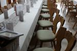 Neu gepolsterte Stühle für Gasthäuser
