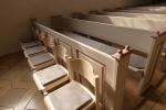 Polster für Kirchenbänke
