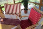 Polster für Terrassenmöbel