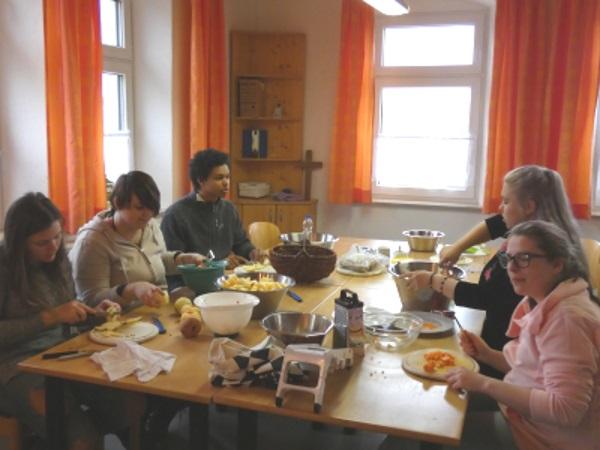 Gemeinsames Kochen – Gesunde Ernährung