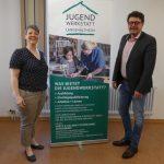 Landtagsabgeordneter Alfons Brandl besucht die Jugendwerkstatt